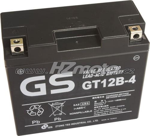 Motobaterie Yuasa GT12B-4 12V 10Ah
