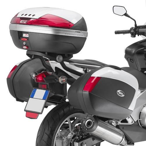 Honda Integra 700 (12-) trubkový nosič kufrů Givi PLX1120