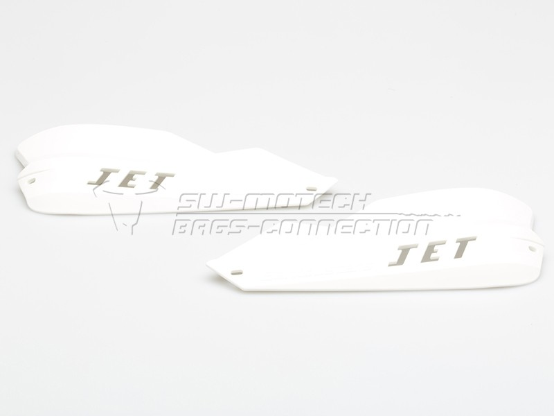 Chrániče páček JET Barkbusters pro kónická řidítka - bílé