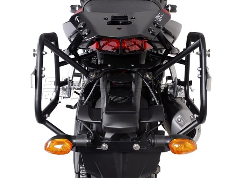 Yamaha FZ 1 Fazer (05-) - kompletní sada AERO kufrů, nosič, adap