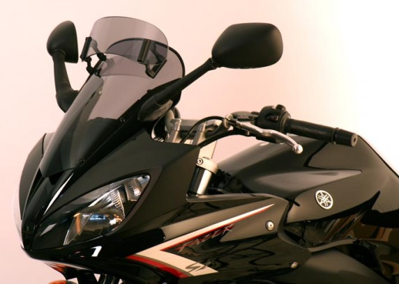 Yamaha FZ 600 S2 Fazer (07-) MRA plexi Variotouring, kouřové