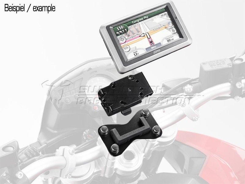 Suzuki DL 650 V-Strom (04-10) - QUICK-LOCK držák GPS, SW-Motech