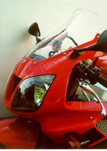 Honda VTR 1000 SP2 (02-) - MRA kouřové plexi touring