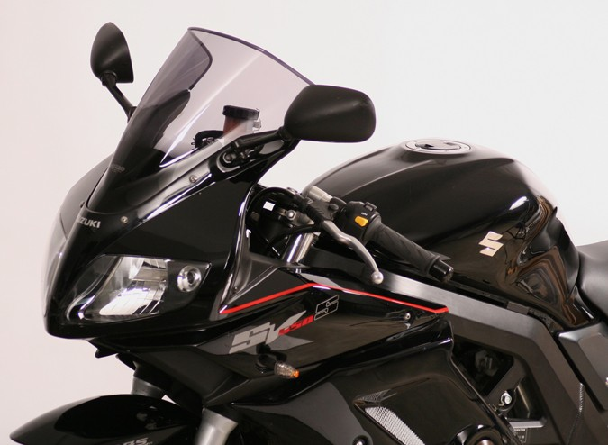Suzuki SV 650 / 1000 S (03-) - MRA kouřové plexi racing