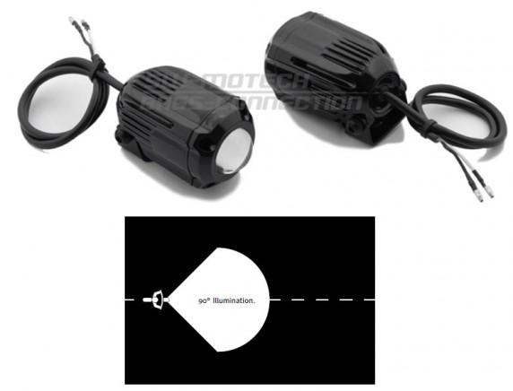 Hawk FOG light přídavná mlhová světla černá SW-Motech