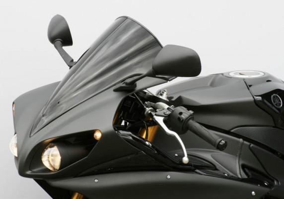 Yamaha R1 (09-) černé plexi MRA Racing