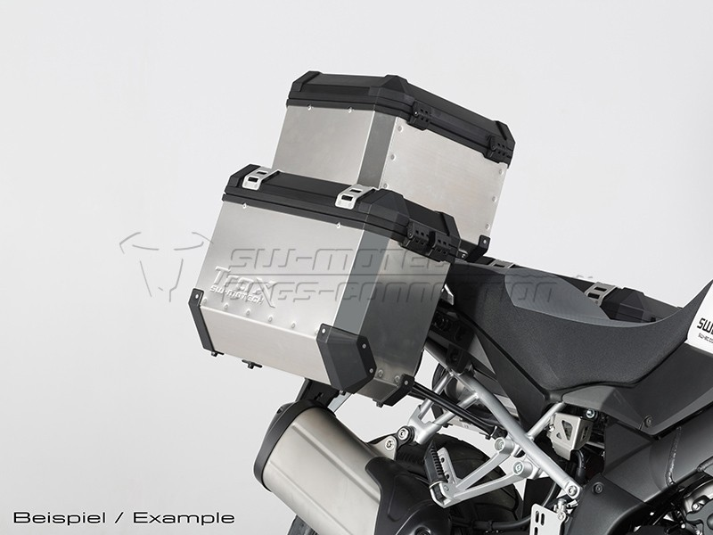 Suzuki V-Strom 1000 (14-) - sada bočních kufrů TRAX EVO 45 l. s