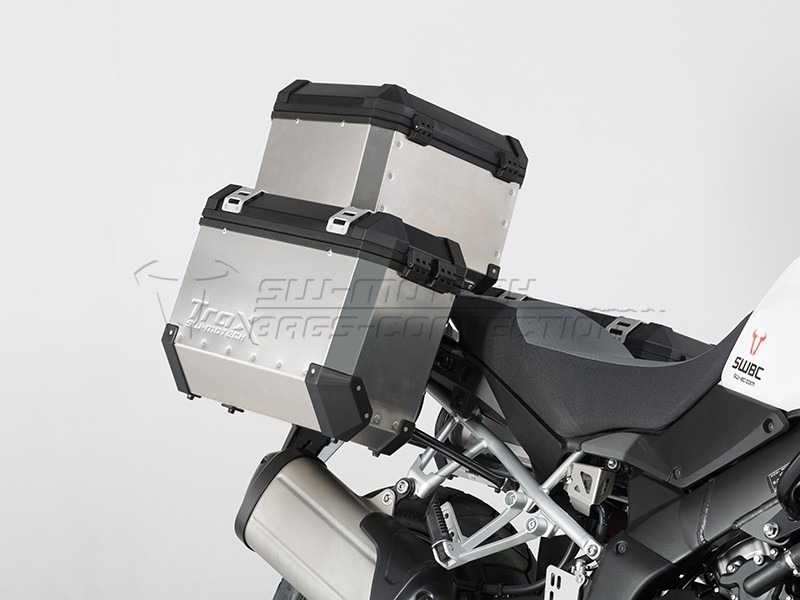 Suzuki V-Strom 1000 (14-) - sada bočních kufrů TRAX EVO 37 l. s