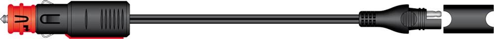 SAE-72 příslušenství k Accumate a Optimate - DIN / zapalovač kon