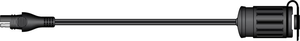 SAE-76 příslušenství k Accumate a Optimate - 12V voděodolná zásu