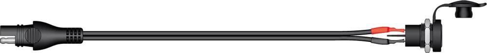 SAE-78 příslušenství k Accumate a Optimate - 12V DIN voděodolná