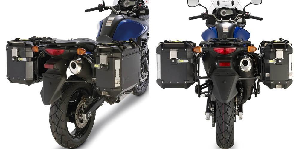Suzuki DL 650 V-Strom (11-) - nosič hliníkových bočních kufrů, G
