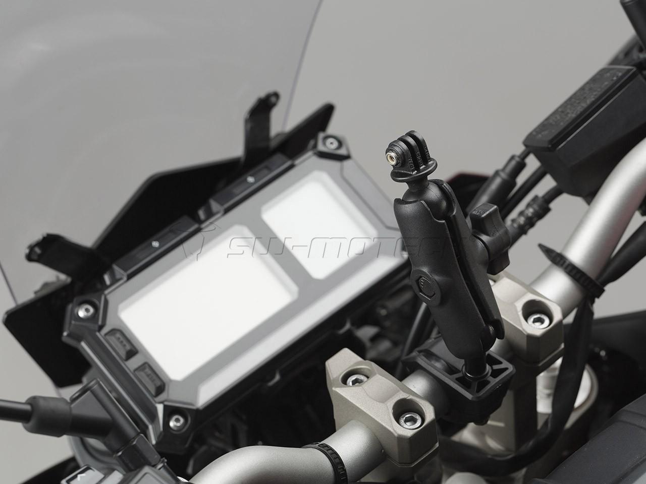 Univerzální držák RAM pro kamery GoPro. Řídítka 22/28 a 25 mm