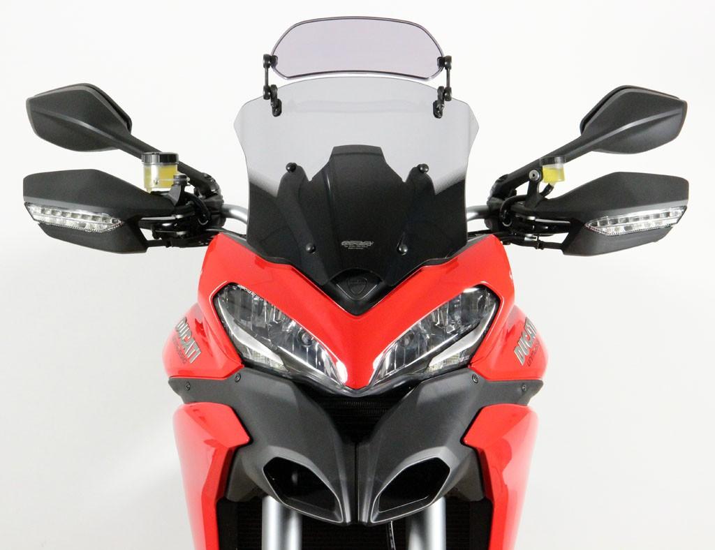 Ducati Multistrada 1200 /S (13-14) - čiré plexi MRA X-Creen Spor