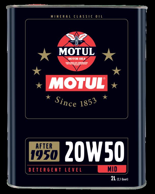 Motul Classic Motor Oil 4T 20W50 2L