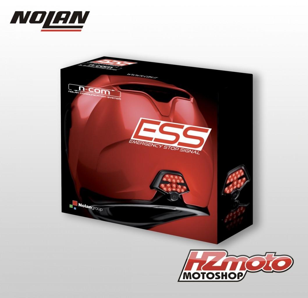 Bezpečnostní brzdové světlo (ESS) pro přilby Nolan N104, N87, N4