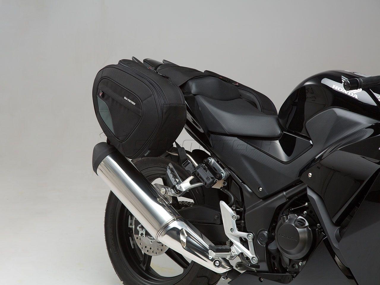 Honda CB 500 F / R (16-) - sada sedlových tašek BLAZE® a držáků