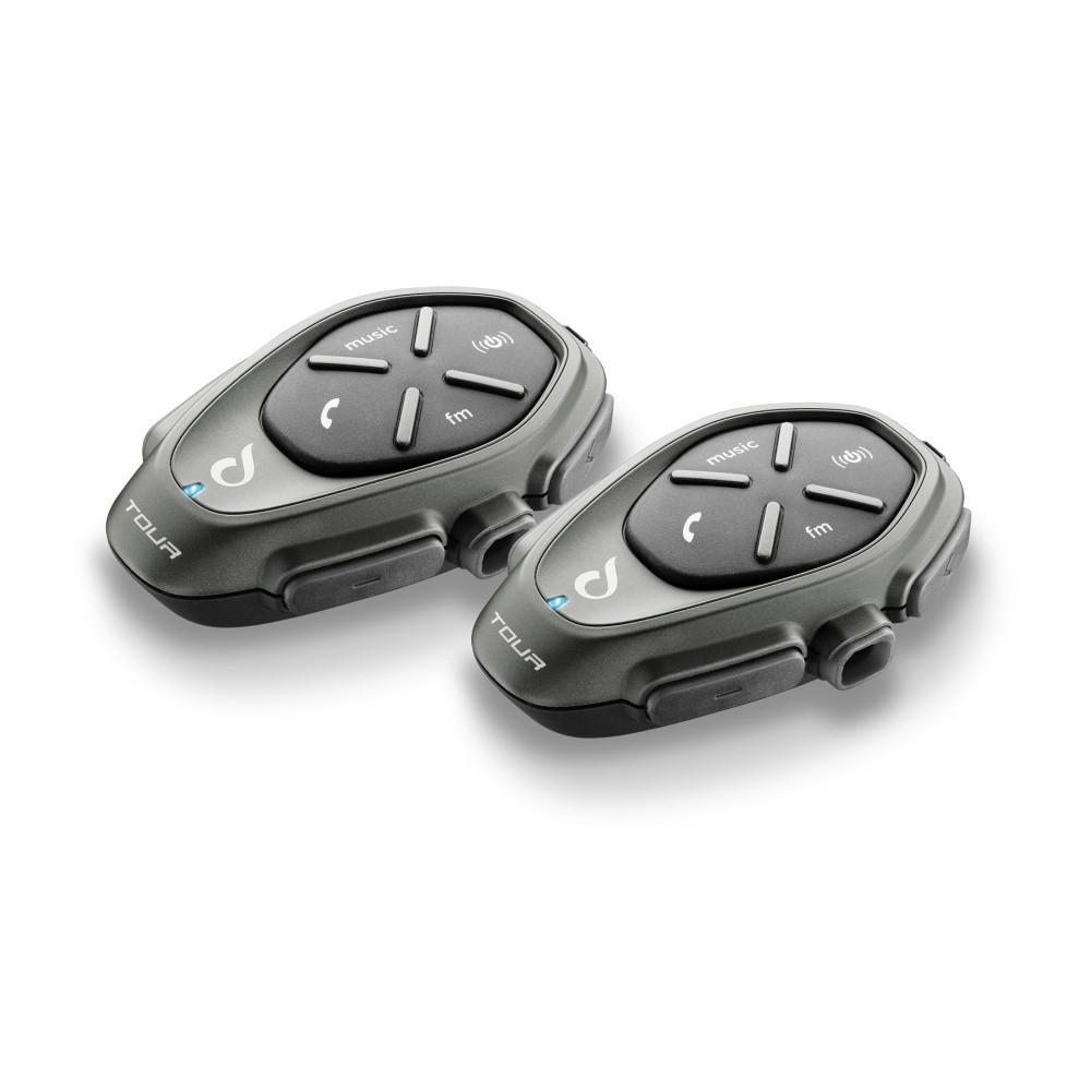 Bluetooth handsfree pro uzavřené a otevřené přilby CellularLine