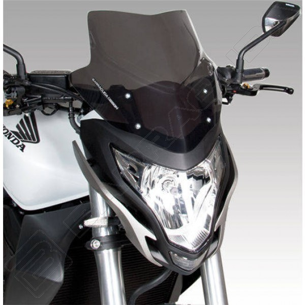Honda CB 600 F Hornet (11-13) - plexi Barracuda Aerosport