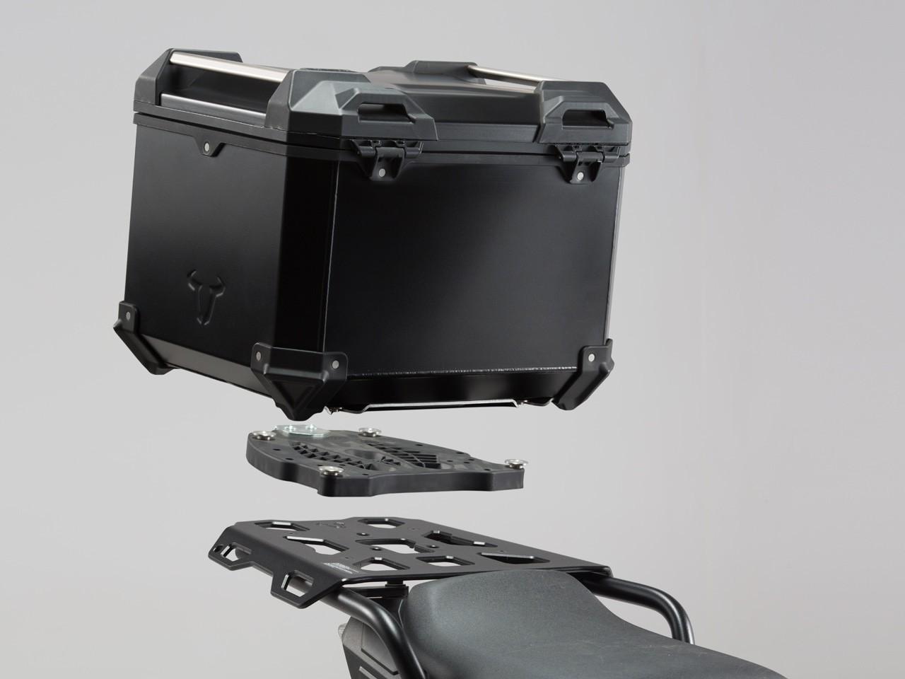 Suzuki V-Strom 1000 (14-) - sada horního nosiče s kufrem TRAX Ad