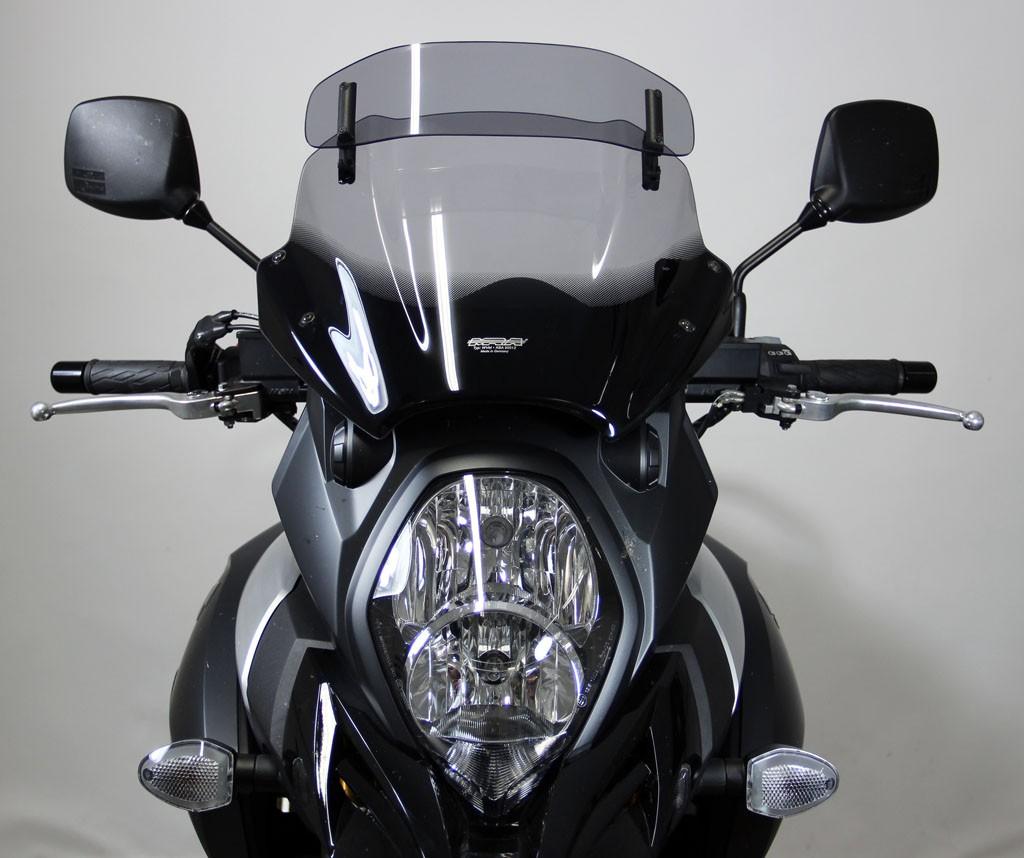 Suzuki V-Strom 1000 (14-) - MRA kouřové plexi Variotouring