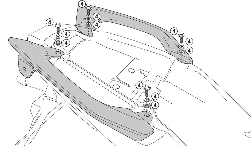 Kawasaki Versys 650 (10-) - kit pro samostatnou montáž bočních n
