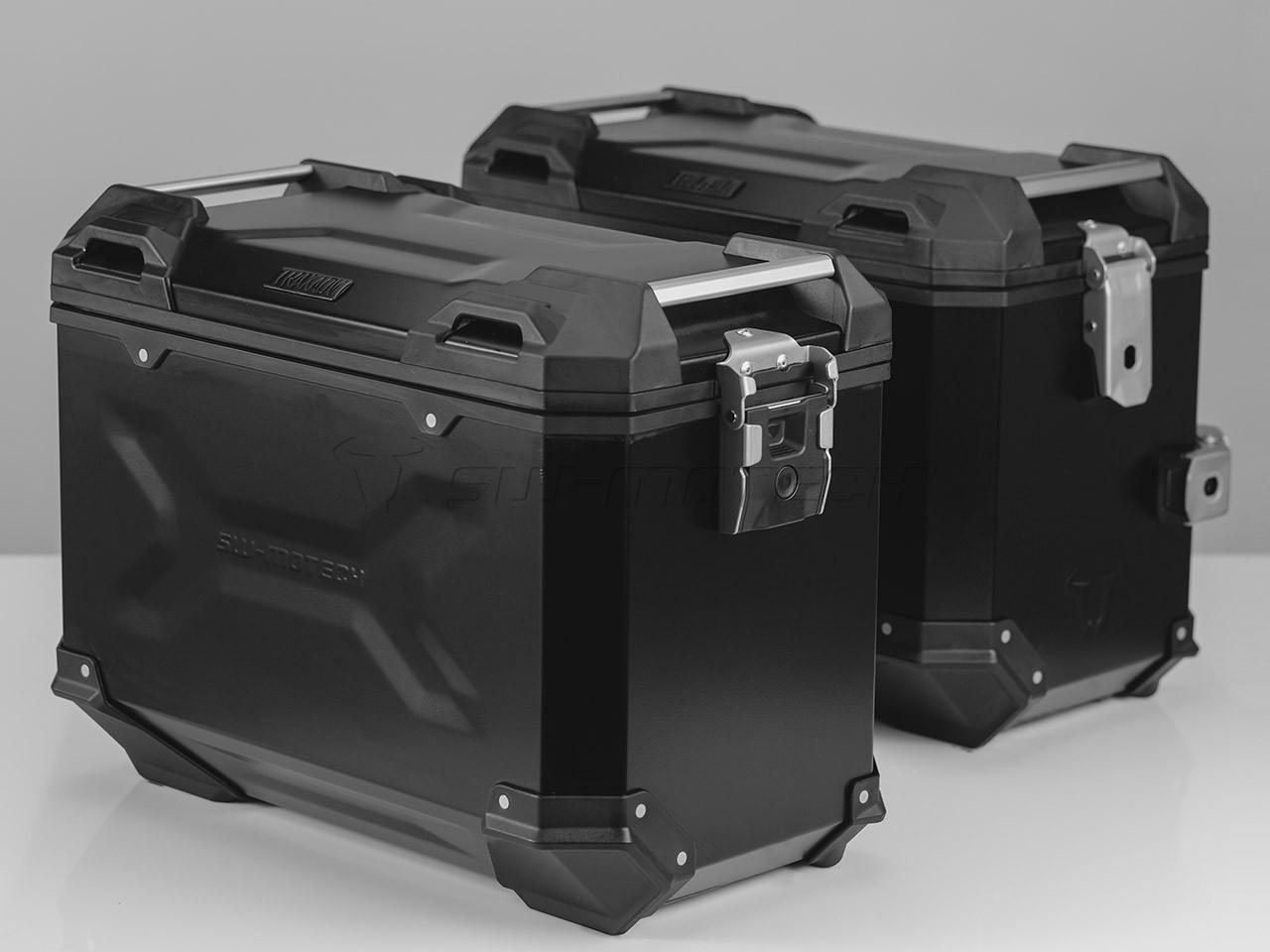 Suzuki V-Strom 1000 (14-) - sada bočních kufrů TRAX Adventure 45