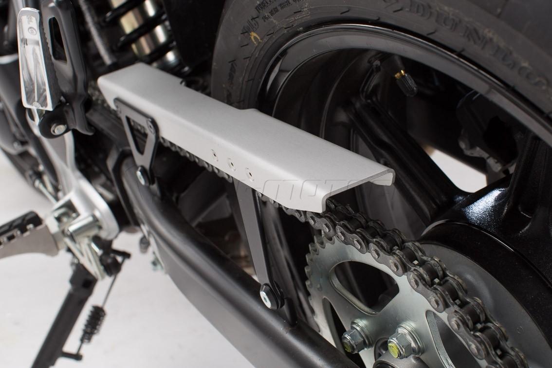 Suzuki SV 650 ABS (16-) - hliníkový kryt řetězu SW-Motech, KTS.0