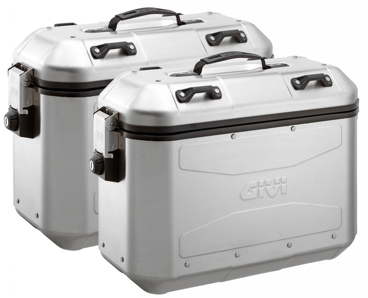 Boční hliníkové kufry Givi DLM36APACK2 Trekker Dolomiti - 36/36