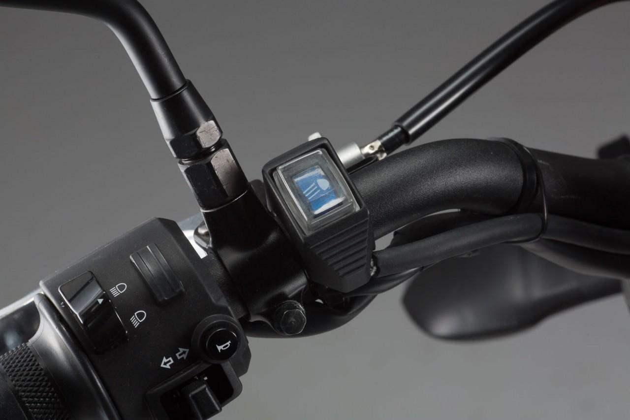 SW-Motech podsvětlený vypínač na řidítka pro dálková světla, vod