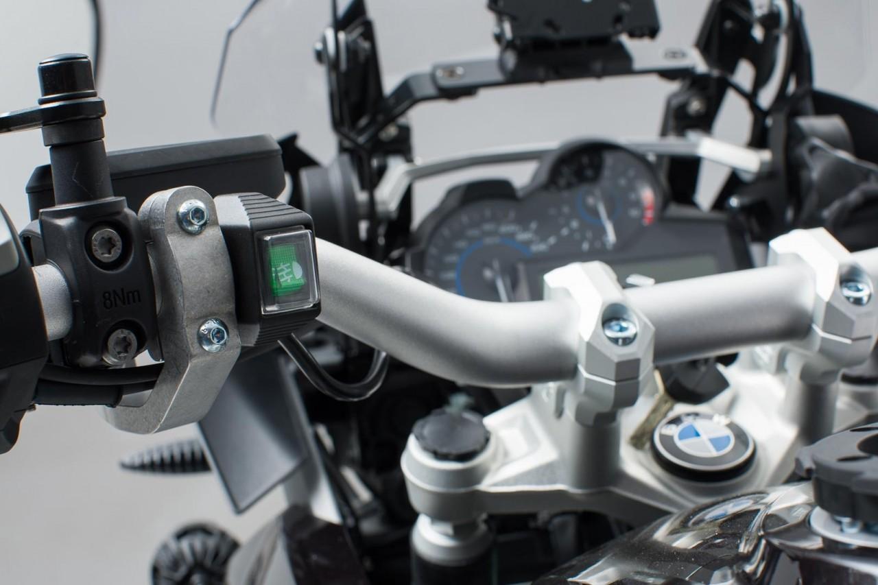 SW-Motech podsvětlený vypínač na řidítka pro mlhová světla, vodo