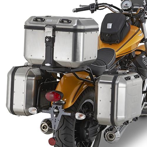 Moto Guzzi V9 Roamer (16-) - boční nosič Givi PL8202