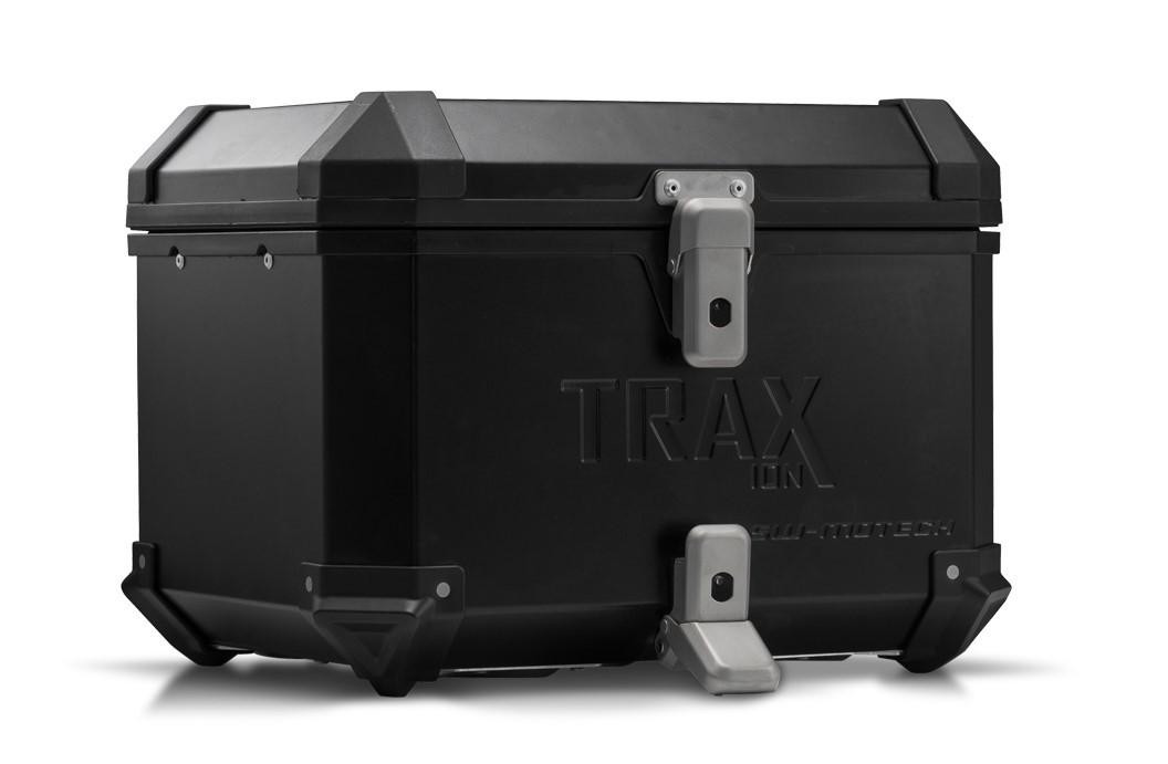 Hliníkový kufr horní TraX ® ION 38 litrů černý