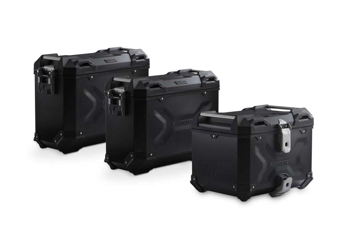 Adventure set hliníkových kufrů TRAX ADV černé provedení KTM 105