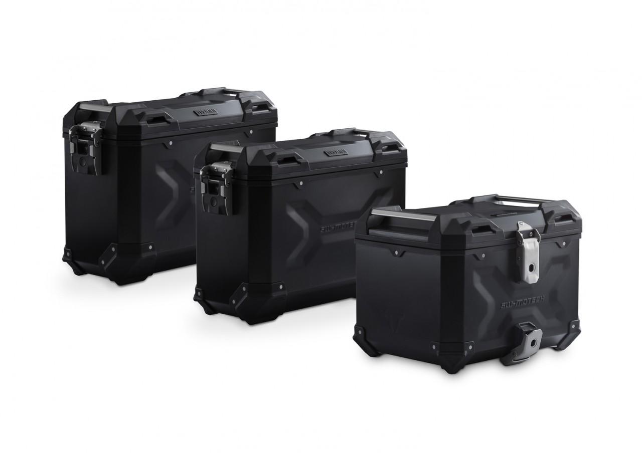 Adventure set hliníkových kufrů TRAX ADV černé provedení Triumph