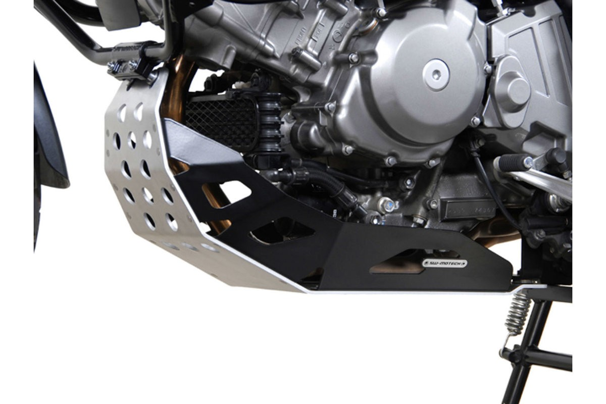 Suzuki DL 650 V-Strom (04-10) černý kryt motoru SW-Motech