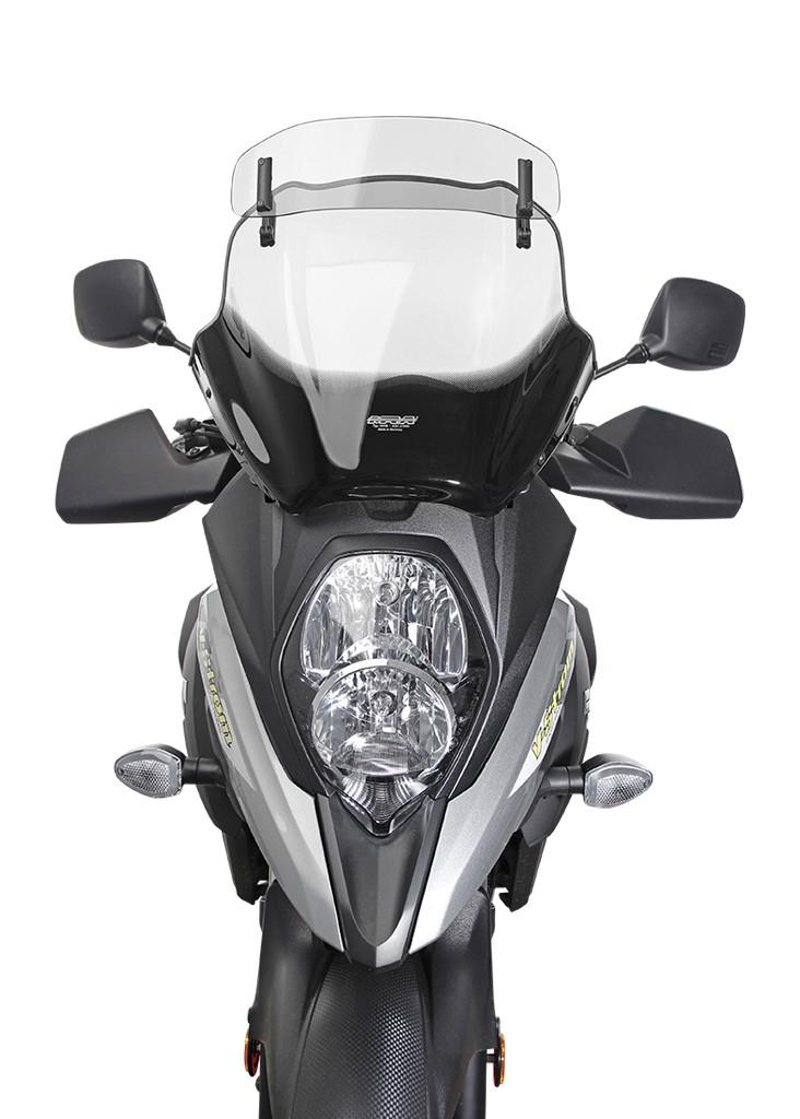 Suzuki V-Strom 650 / XT (17-) - Variotouring plexi MRA, čiré