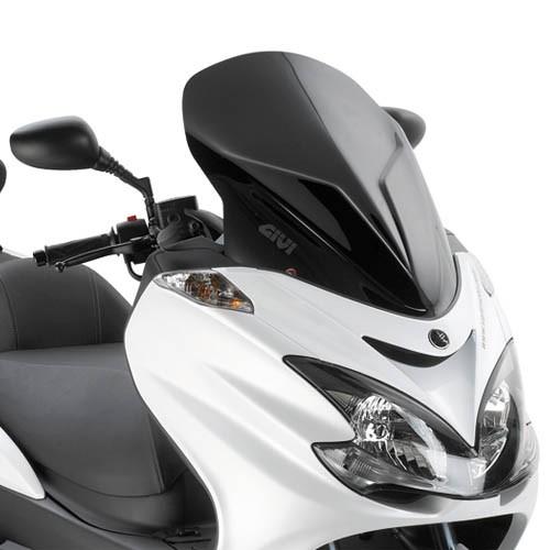 Yamaha Majesty 400 09- Givi plexi sportovní černé