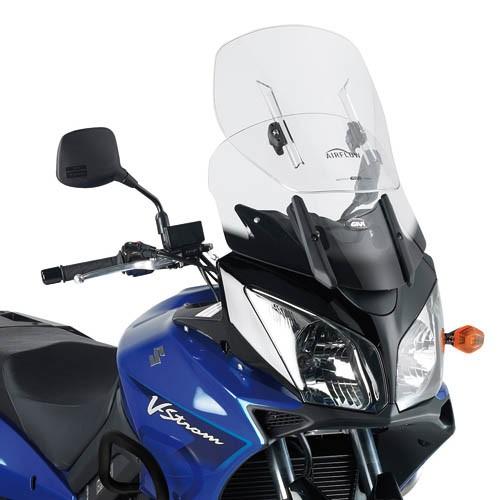 Suzuki DL 650 / DL 1000 V-Strom (04-11) - čiré nastavitelné plex