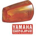 Sklo do blinkru pravé přední, levé zadní - originál Yamaha