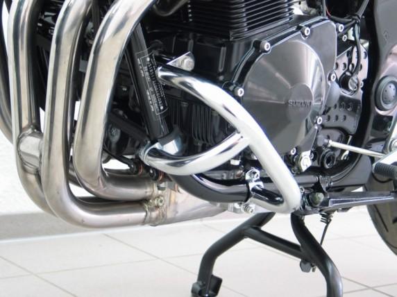 Suzuki GSF 650 Bandit (05-06) padací rám chromovaný Fehling