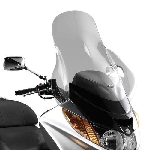 Suzuki Burgman 250-400 (03-06) - čiré plexi Givi D258ST