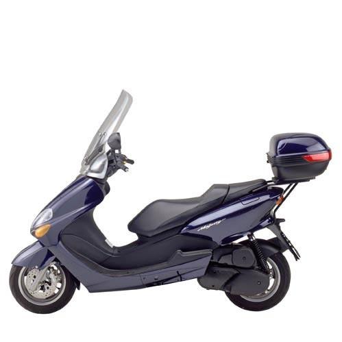 Yamaha Majesty 125 / 150 / 180 (01-11) - plexi čiré Givi 130DT