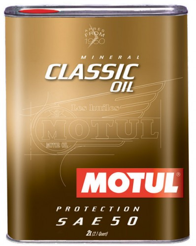 Motul Classic Motor Oil 4T SAE50 2L