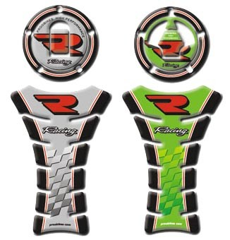 Tankpad Racing Kawasaki + víčko nádrže