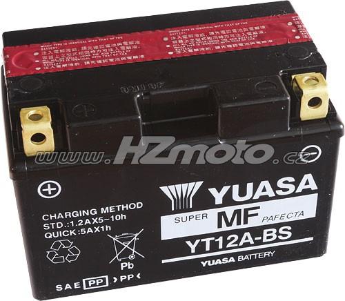 Motobaterie Yuasa YT12A-BS 12V 9,5Ah