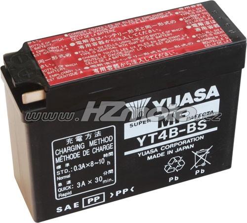 Motobaterie Yuasa YT4B-BS 12V 2,3Ah