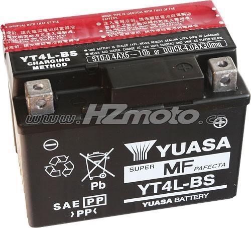 Motobaterie Yuasa YT4L-BS 12V 3Ah