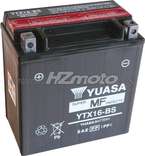 Motobaterie Yuasa YTX16-BS 12V 14Ah