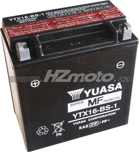 Motobaterie Yuasa YTX16-BS-1 12V 14Ah